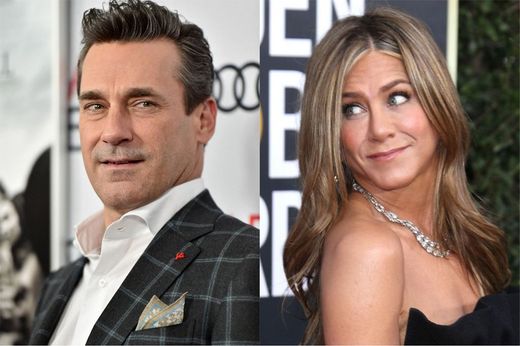 Jennifer Aniston Jon Hamm