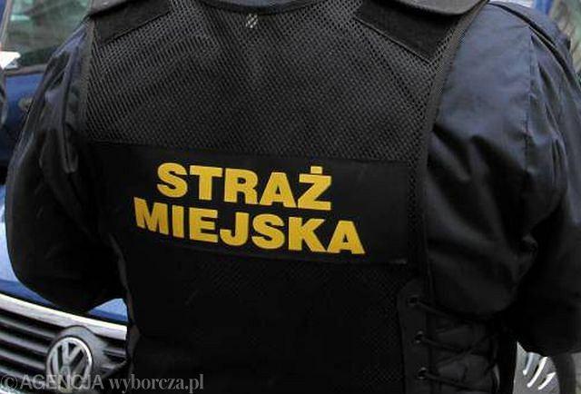 Funkcjonariusze straży miejskiej