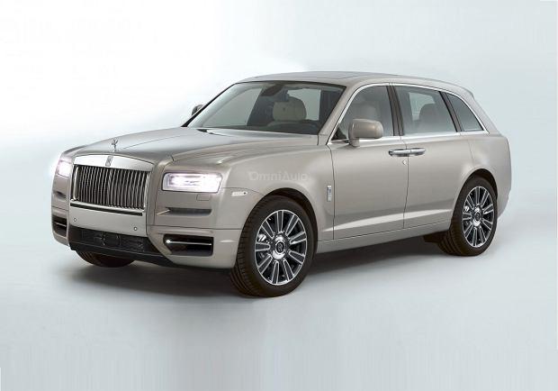 Wizualizacja Rolls-Royce'a Cullinan
