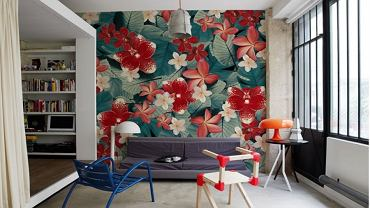Modny trend - tapeta na ściane