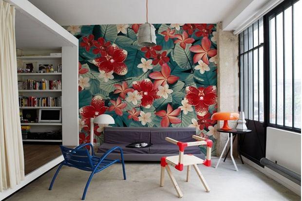 Modny trend - tapeta na ścianę