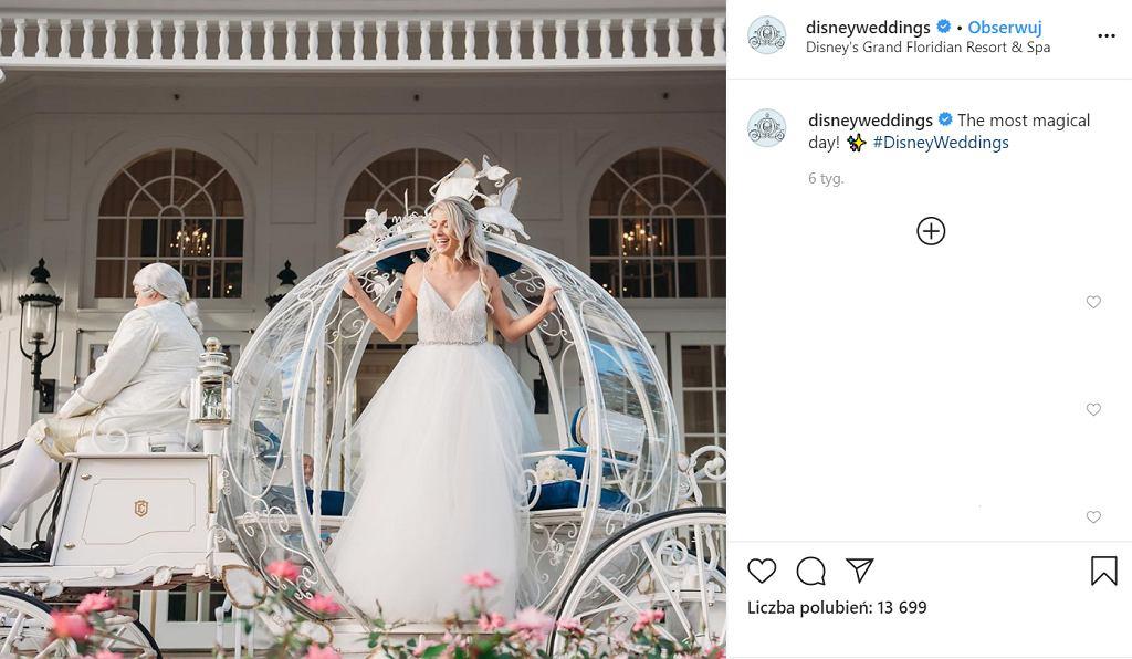 Disney wypuści kolekcję sukien ślubnych inspirowanych księżniczkami