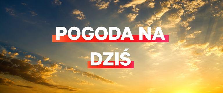 Pogoda na dziś, 22 kwietnia. Pogodowy lany poniedziałek na wschodzie Polski