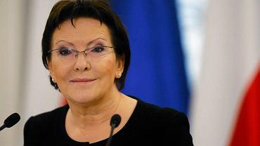Kandydatka PO na premiera Ewa Kopacz
