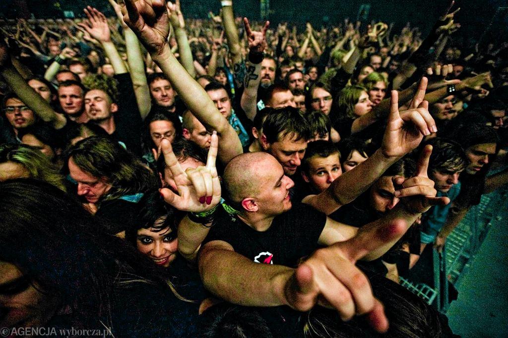 Koncert Heavy Metalu (zdjęcie ilustracyjne)