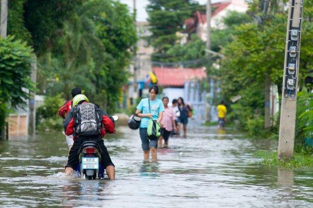 Tajlandia podczas pory deszczowej