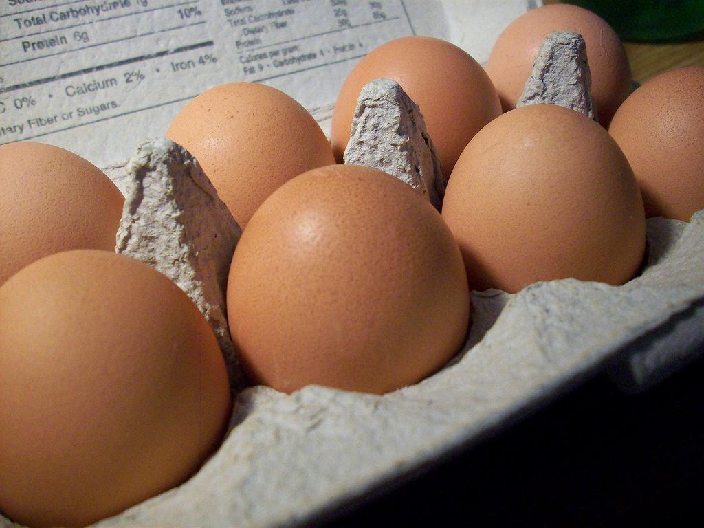 Salmonella w jajkach. GIS ostrzega, żeby ich nie jeść