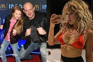 Tomasz Oświeciński z córką, Aleksandra Kowalska