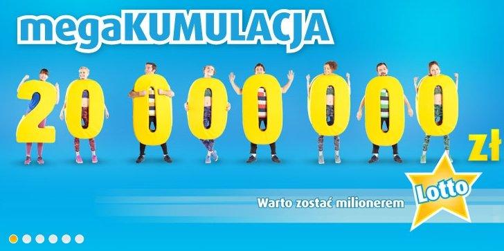 Już jutro w puli nagród podczas losowania znajdzie się 20 milionów złotych