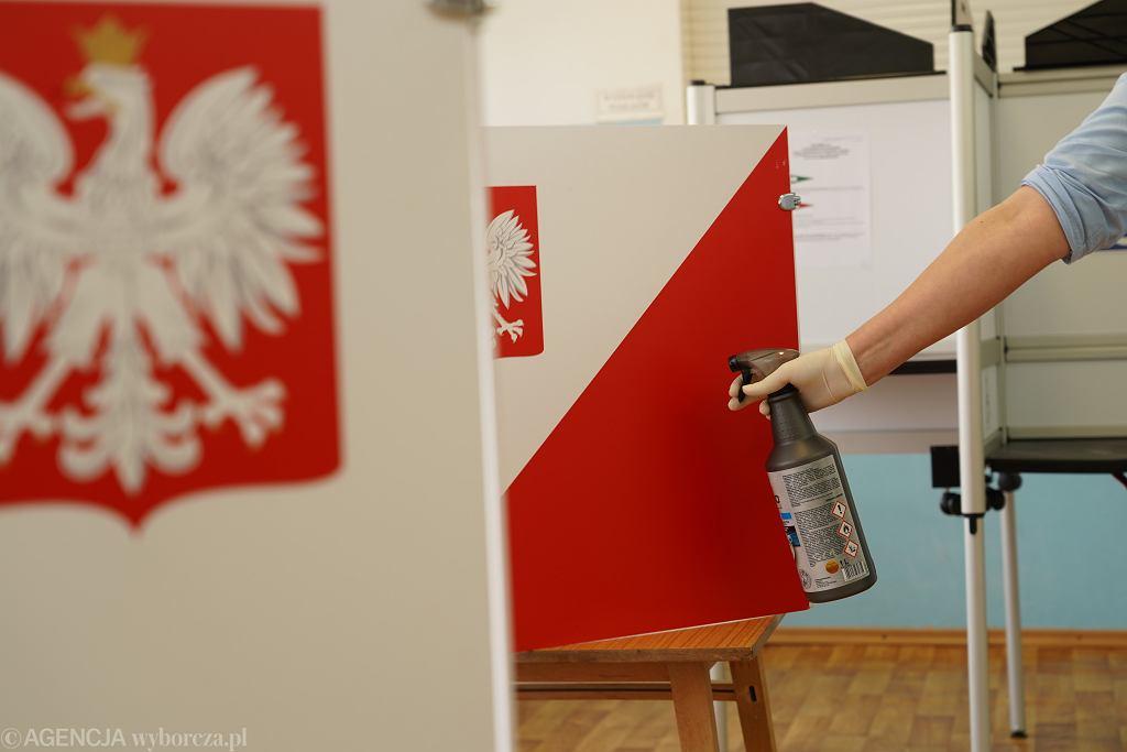 DWybory uzupelniajace podczas epidemii koronawirusa w Bemowie Piskim