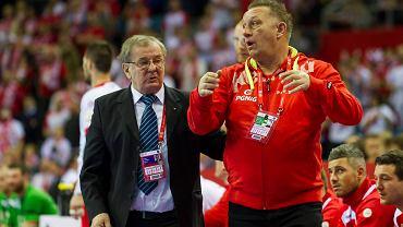 Mecz Polska - Białoruś w Kraków Arenie. Michael Biegler