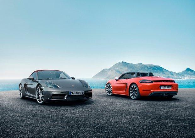 Porsche 718 Boxster i Boxster S   Nowa nazwa i 4-cylindrowe silniki turbo