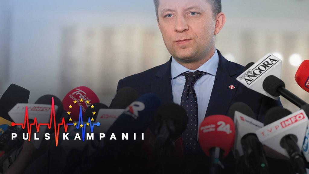 Szef Kancelarii Premiera minister Michał Dworczyk
