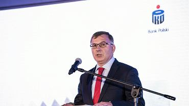 Zbigniew Jagiełło, szef PKO BP