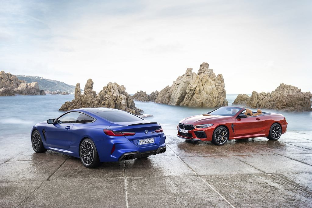 BMW M8 Competition Coupe i Convertible