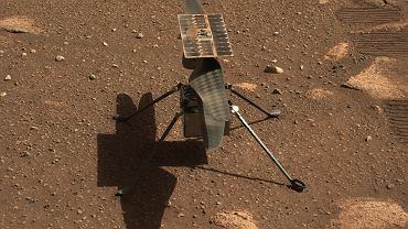 Dron Ingenuity już na Marsie czeka na pierwszy lot