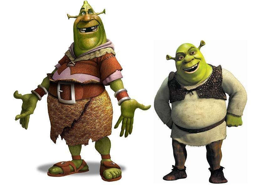 'Shrek' - grafika koncepcyjna