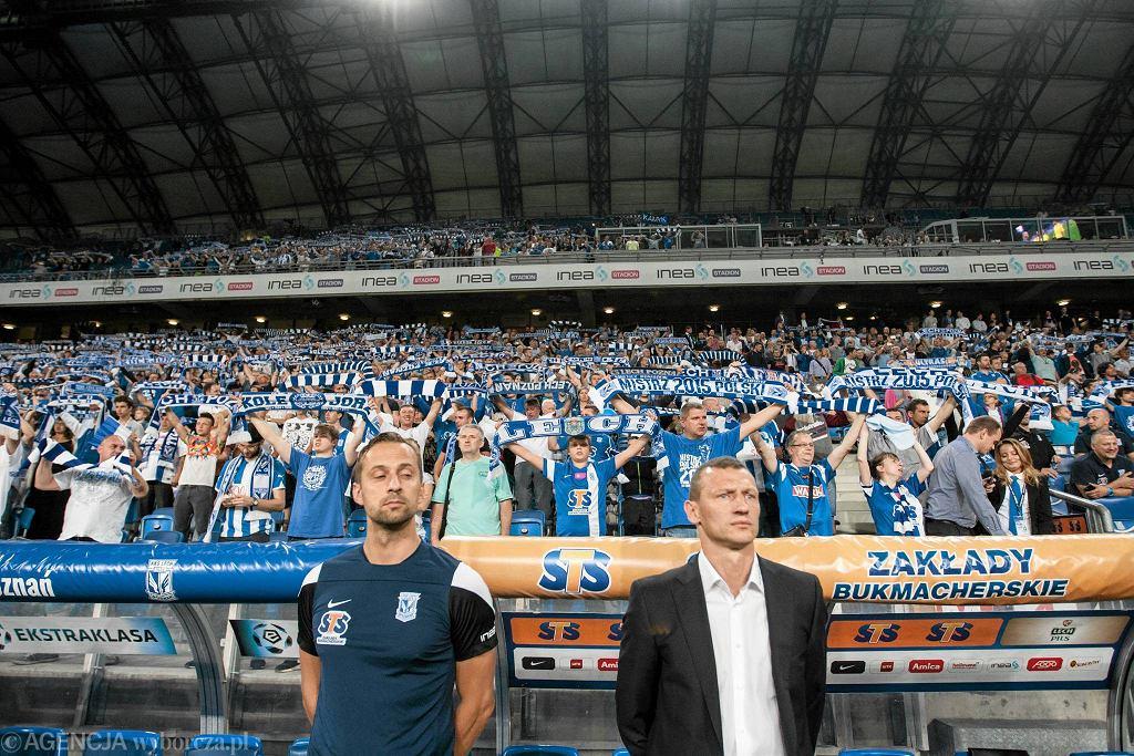 Trener Dariusz Żuraw (z prawej) i odpowiedzialny za przygotowanie fizyczne Andrzej Kasprzak