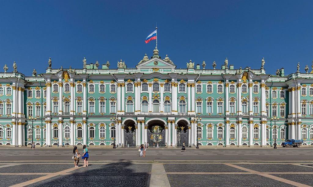 Pałac Zimowy w Petersburgu