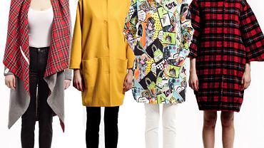 Kolorowe kurtki i płaszcze Never Ever