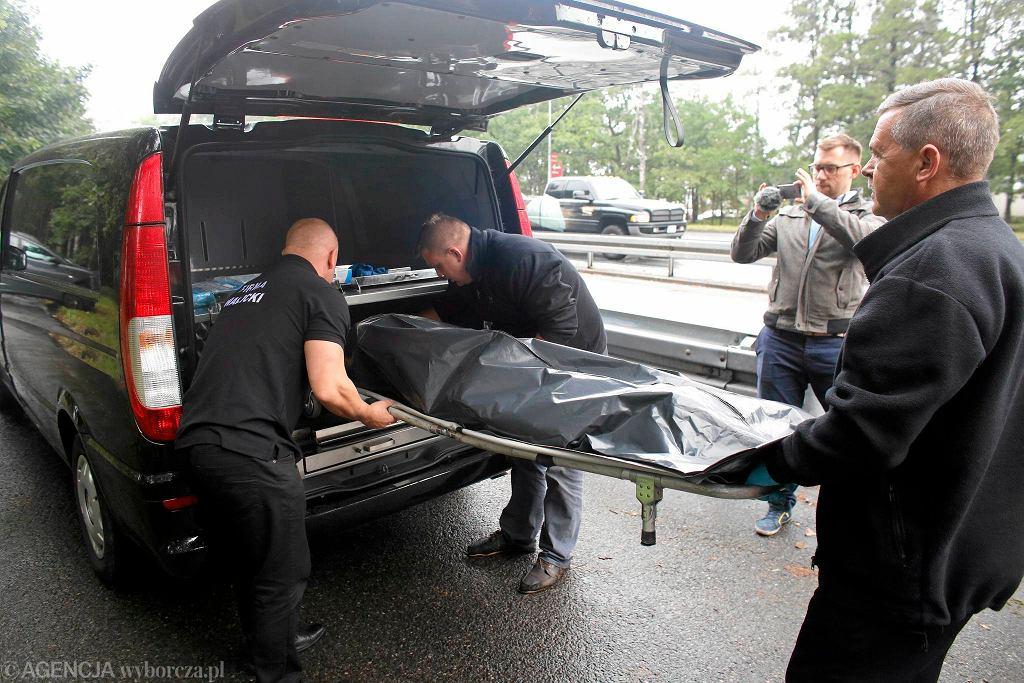 Symulacja wypadku w Katowicach (zdjęcie poglądowe)