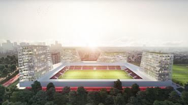Projekt nowego stadionu Excelsioru Rotterdam