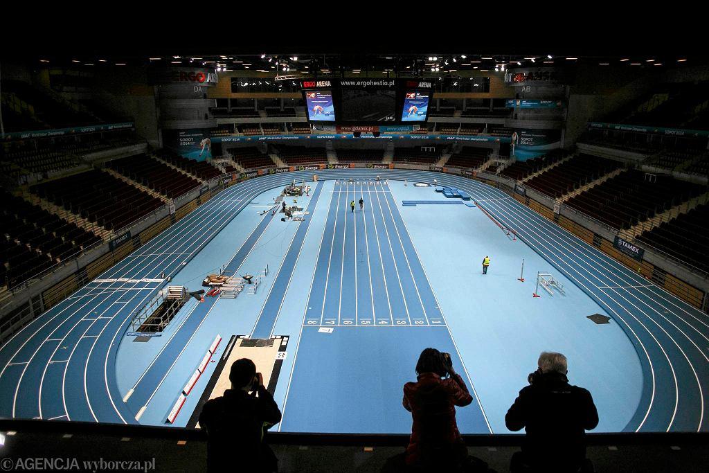 Ergo Arena jest już niemal gotowa na przyjęcie najlepszych lekkoatletów świata
