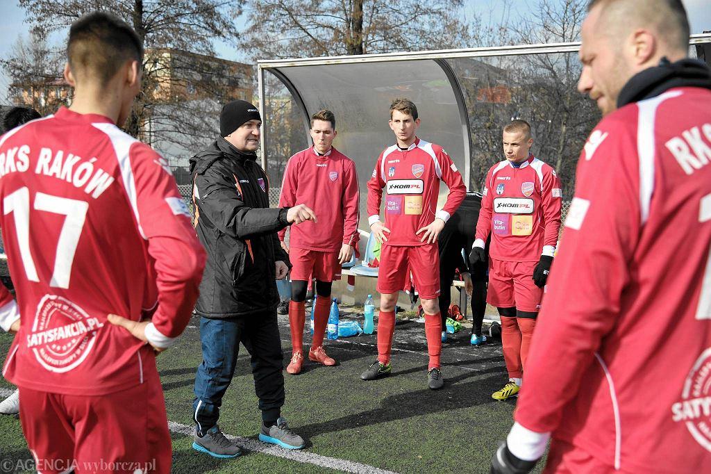 Mecz sparingowy Raków Częstochowa - ŁKS Łódź 2:0