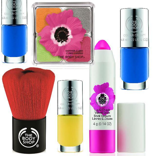 Wiosenny makijaż z The Body Shop