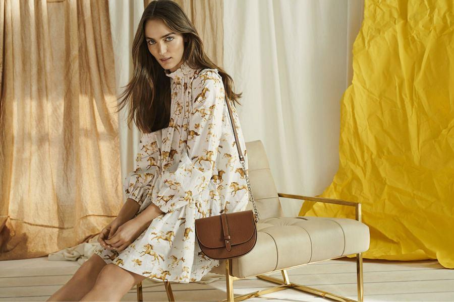 Piękna, delikatna torebka listonoszka marki Wojas