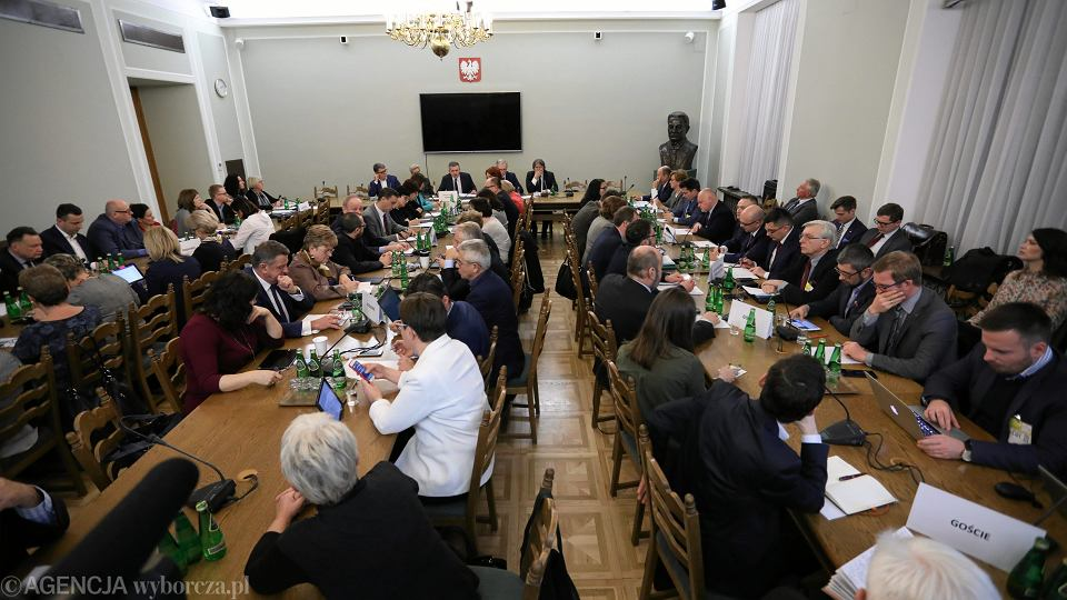 Sejmowa Komisja Zdrowia, 3 stycznia 2017.