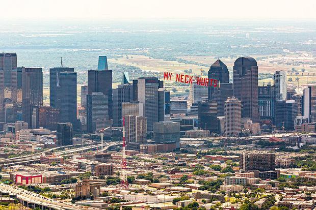 'Boli mnie szyja' - ostanie słowa George'a Floyda zawisły nad Dallas