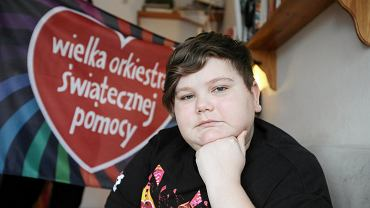 Wolontariusz Łukasz Berezak