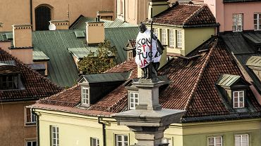 Demonstracja 'My jesteśmy Konstytucją', organizowana przez KOD
