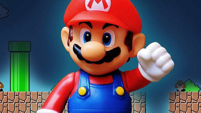 Mario - kultowy hydraulik włoskiego pochodzenia, główny bohater gier wideo z serii Super Mario Bros.