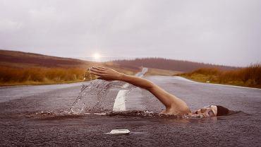 Pływanie a bieganie