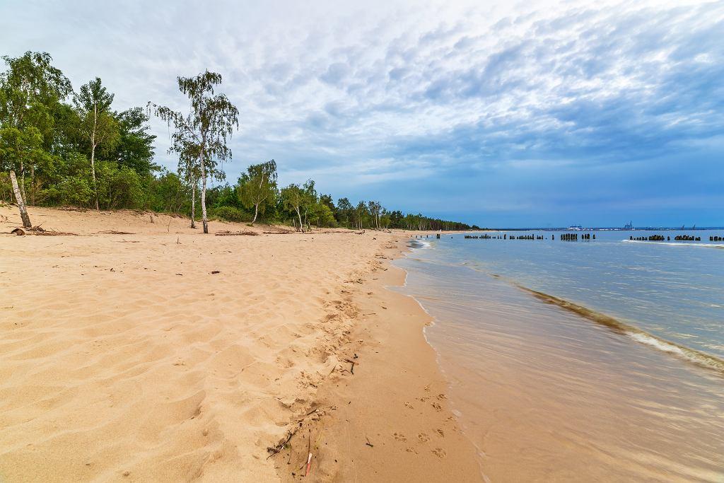 Beautiful,Beach,At,Baltic,Sea,In,Poland