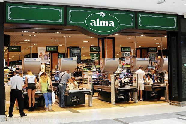 Sieć delikatesów Alma tonie na warszawskiej giełdzie