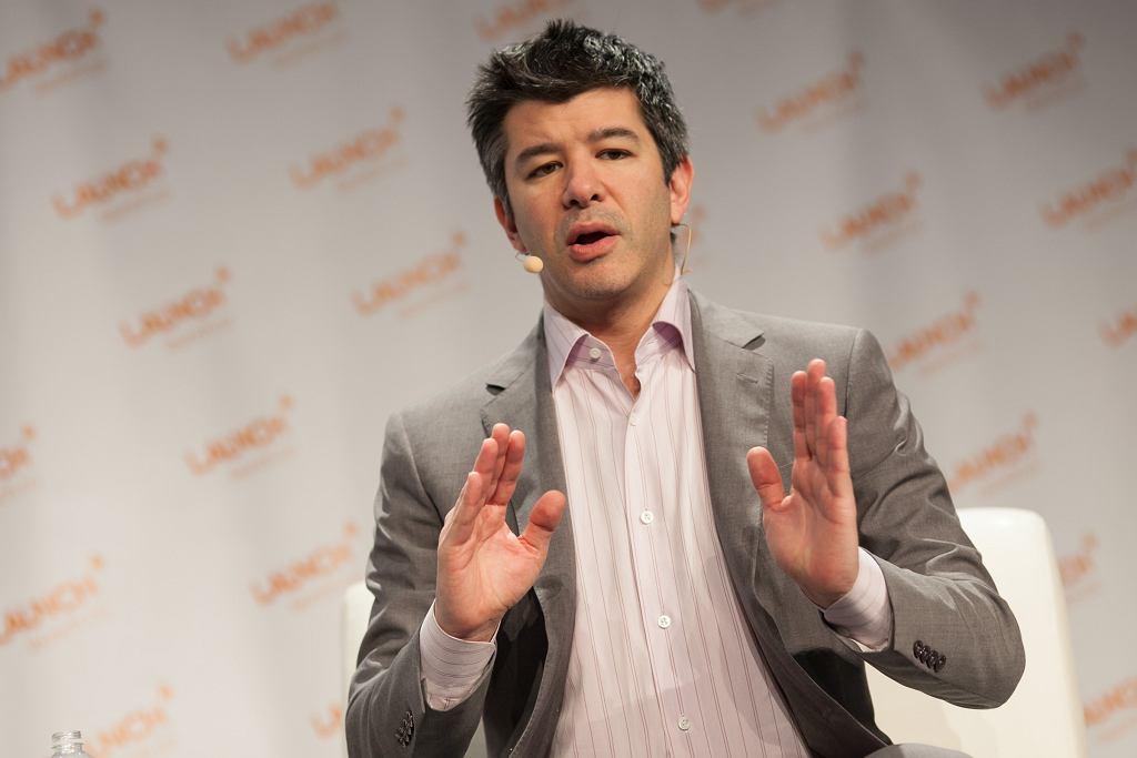 Travis Kalanick, founder-CEO of Uber