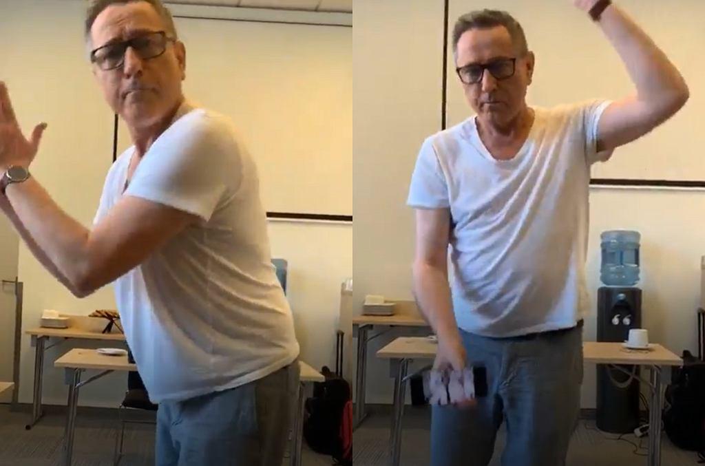 Andrzej Sołtysik tańczy