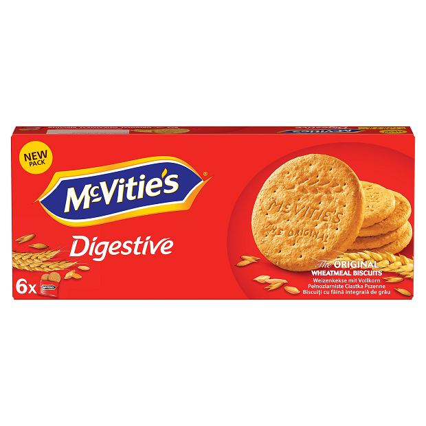 Tradycyjny brytyjski deser z McVitie's.