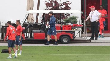 Niko Kovac na treningu Bayernu Monachium