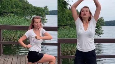 Joanna Moro pokazuje ulubione ćwiczenia