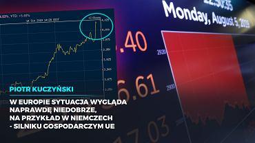Spadki na rynkach i strach przed recesją.