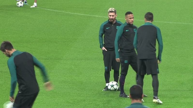 Luis Suarez, Neymar, Leo Messi