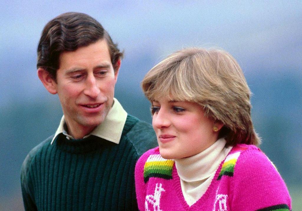 Lady Diana Spencer i książę Karol - 1 maja 1981
