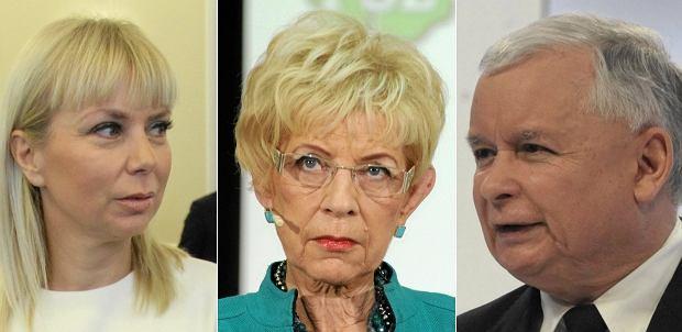 Elżbieta Bieńkowska, Janina Paradowska, Jarosław Kaczyński