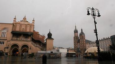 Ulewa, Kraków