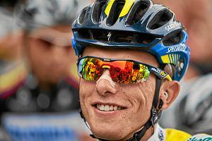 Giro d'Italia. Tom Dumoulin ucierpiał w kraksie. Rafał Majka w czołówce