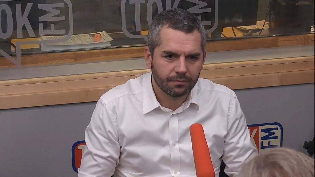 Maciej Konieczny w 'Poranku Radia TOK FM'
